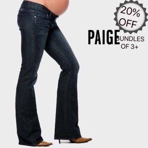 Paige | Westbourne Flare Maternity Jeans Dark | 29